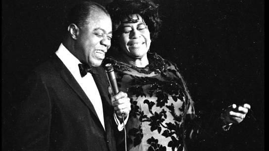 Ella Fitzgerald y Louis Armstrong