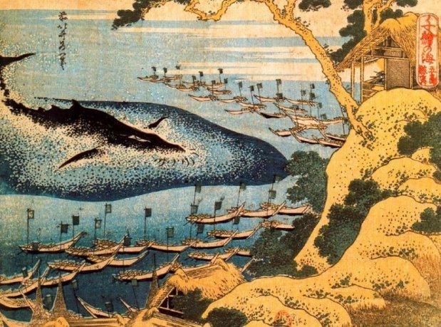Caza de la ballena en Goto