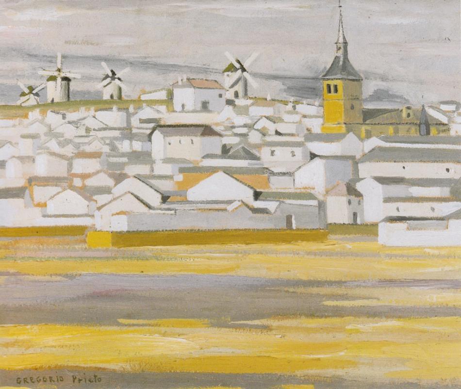 Paisaje-de-Campo-de-Criptana-1926-1928