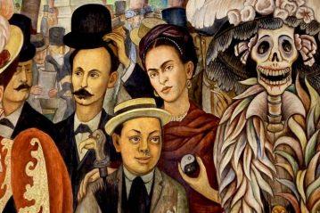Sueño de una tarde dominical en la Alameda Central, de Diego Rivera