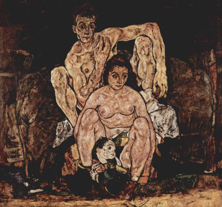 Egon-Schiele-The-Family