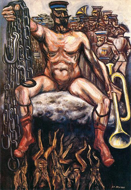 El tirano, de José Clemente Orozco