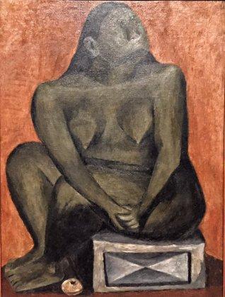 Desnudo en gris