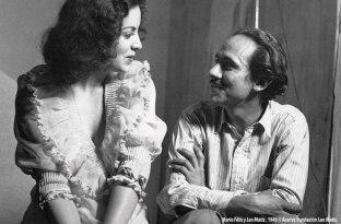 María Félix y Leo Matiz, 1943 © Acervo Fundación Leo Matiz