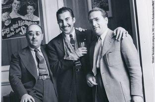 """""""El Indio"""" Fernández con amigos, ca. 1942 © Acervo Fundación Leo Matiz"""