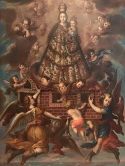 Francisco de León, Traslación de la Santa Casa de Loreto, S. XVII