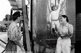 Frida y sus discípulos (II), 1943 © Acervo Fundación Leo Matiz