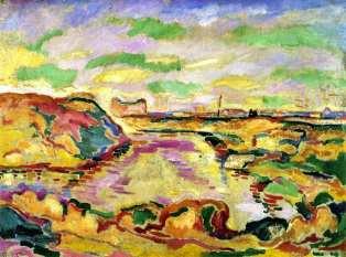 landscape near antwerp