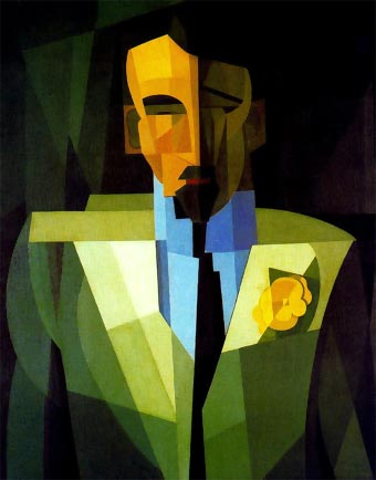 El hombre de la flor amarilla